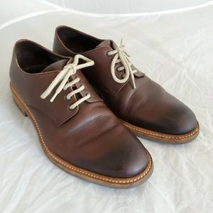 To Boot NY Cognac Oxford shoe